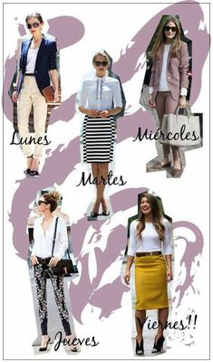 estilozas: 5 looks de oficina Source by anasandov Outfits oficina Casual Work Outfits, Work Attire, Office Outfits, Work Casual, Classy Outfits, Chic Outfits, Fashion Outfits, Office Ootd, Office Fashion