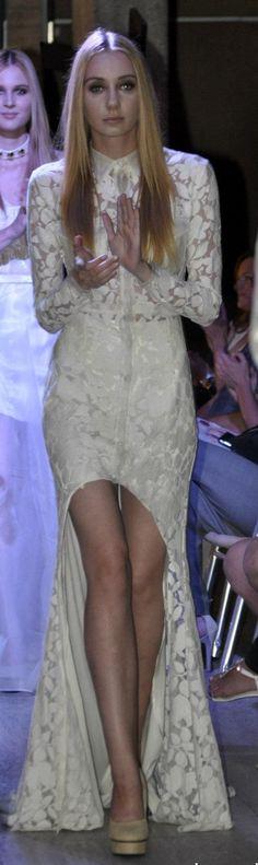 wedding dress - Nora Sarman