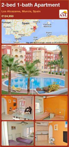 2-bed 1-bath Apartment in Los Alcazares, Murcia, Spain ►€124,950 #PropertyForSaleInSpain