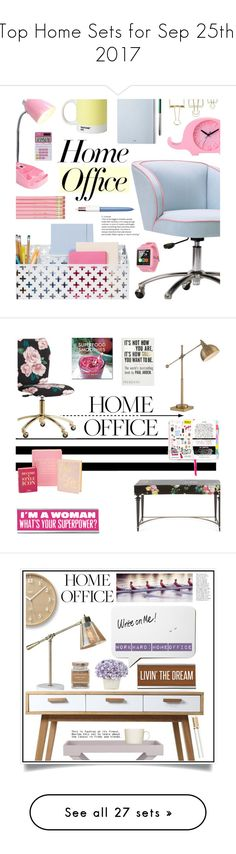 """Top Home Sets for Sep 25th, 2017"" by polyvore ❤ liked on Polyvore featuring interior, interiors, interior design, home, home decor, interior decorating, PBteen, Pantone, The Idle Man and Casio"