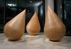 Donald Fortescue Plumb   wood   50 x 36 x 36 in  127 x 91 x 91 cm