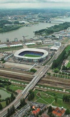 De Kuip Stadion, Rotterdam. Home of Feyenoord.