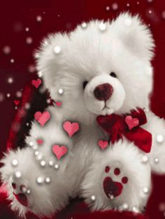 Happy Teddy Day Gif-Show your loved one how much you care. Teddy day is the day you make his or her day better; while it's undoubtedly the cutest day out of the entire Valentine's week if you have no idea what to do on that day then keep reading