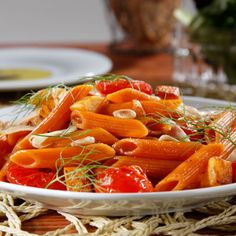 Veggie Penne with Roasted Butternut Squash, Fennel, Grape Tomatoes and Toasted Pistachios #Barilla