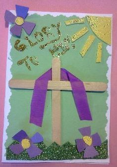 easter christian card | How To Make A Easter Cross Card