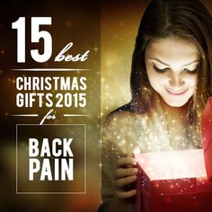 15 Best Christmas Gifts 2015 for Back Pain