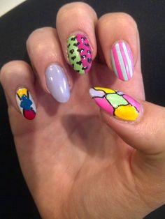 Nice designs #nailcolours