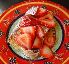 This Strawberry and Cream Cheese Stuffed French Toast would be great for your holiday breakfast! Make Ahead Breakfast Sandwich, Breakfast Dishes, Breakfast Recipes, Breakfast Sandwiches, Breakfast Casserole, Breakfast Ideas, Easter Dinner Recipes, Easter Brunch, Brunch Recipes