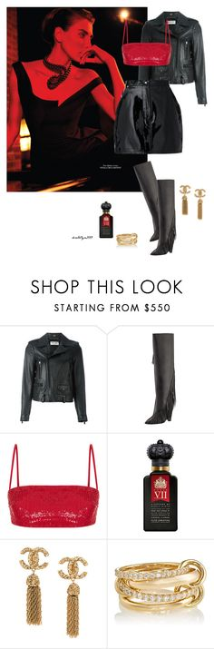 """""""Stranger desire ..."""" by katelyn999 ❤ liked on Polyvore featuring Yves Saint Laurent, Rasario, Clive Christian, SPINELLI KILCOLLIN and Natasha Zinko"""