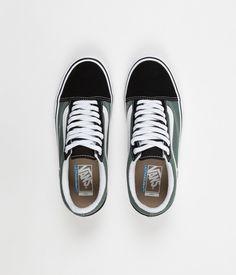 Vans Old Skool Pro Shoes - Black / Duck Green