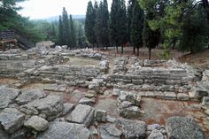 Blog Minoan Palace ruins Crete Greece