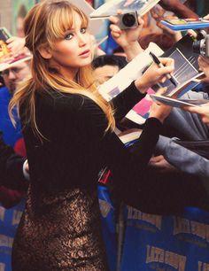 Jennifer Lawrence - the hunger games