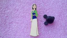 pin broche disney princesse Mulan Glitter Top