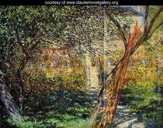 Monet's Garden at Vetheuil