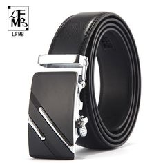 Back To Search Resultsapparel Accessories Bright Men Casual Genuine Leather Belts Black Brown Stitch Patchwork Male Belt Golden Silver Buckle Strap Ceintures Homme High Quality Goods