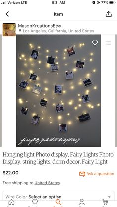 Graduation Party Ideas Discover Fairy Lights bedroom fairy lights wall string lights for weddings string lights for photos hanging lights LED fairy lights plug in Fairy Lights Photos, Led Fairy Lights, Jar Lights, Mirror With Lights, Hanging Lights, String Lights, Light String, Foto Memory, Lumiere Photo