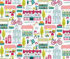 4th Saturday of the Month fabric by ebygomm on Spoonflower - custom fabric @Spoonflower
