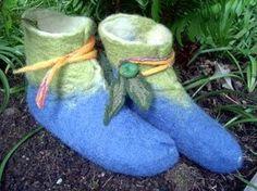 elf felt slipper