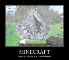 Discover Minecraft !