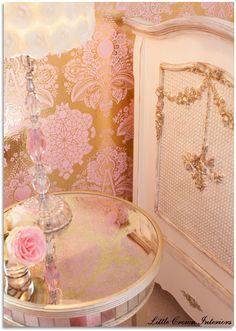 Design Dazzle: Glamour & Old Hollywood Baby Nursery