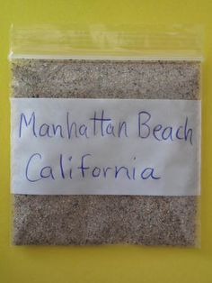 Manhattan Beach California Sand Sample   eBay ~ A very nice beach in Southern Ca.