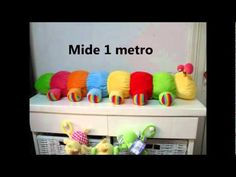 Gusano Gigante de Peluche! #00 - YouTube Toy Chest, Storage Chest, Cabinet, Furniture, Youtube, Home Decor, Throw Pillows, Plushies, Presents