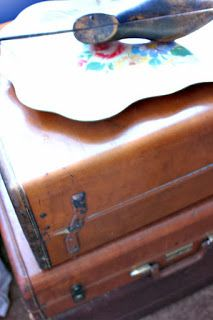 How to clean vintage suitcases. | Helpful How-to's | Pinterest ...