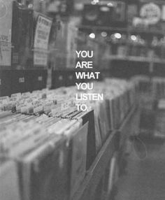 You are what you listen to. I am Lana Del Rey