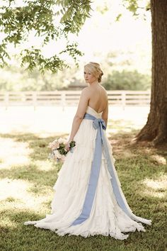 French Country Inspired Farm Wedding Ivory Silk Chiffon Ruffles Dress From Jim Hjelm