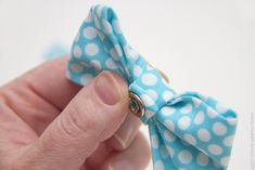 "tutorial ""Make It Love It""; bow tie with snap for onesie"