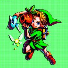 Link   The Legend of Zelda   Majora's Mask 3D