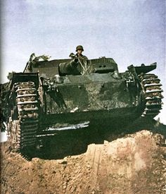 Sturmgeschutze III Ausfuhrung A tank destroyer
