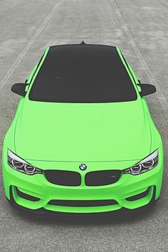 BMW ///M4 crazy color