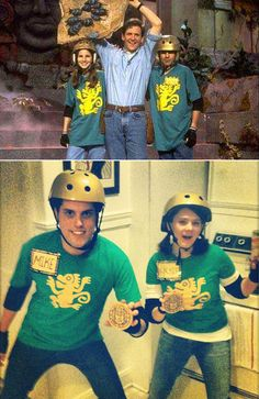 '90s Halloween Costumes For Couples: Legends of the Hidden Temple Contestants