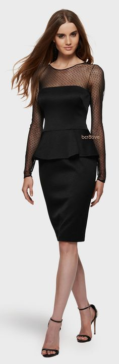 David Meister Illusion Mesh Cocktail Dress The Effective Pictures We Offer You About Club Outfits wh Club Outfits For Women, Classic Style Women, Fashion 101, Dress Suits, Club Dresses, Beautiful Gowns, Dress Backs, David Meister, Evening Gowns