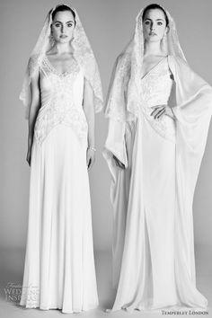 Love the mantillas.  Temperley London Spring 2012 Wedding Dresses — Ophelia Bridal Collection | Wedding Inspirasi