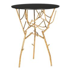 Tara Accent Table in Black