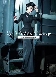 Great steam punk look to this outfit Steampunk Fashion, Victorian Fashion, Vintage Fashion, Foto Fashion, Fashion Beauty, Estilo Coco Chanel, Pin Up Retro, Pinup, Moda Xl