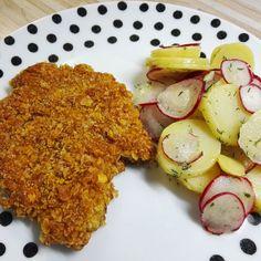 Kartoffelsalat mit Radieschen (vegan)