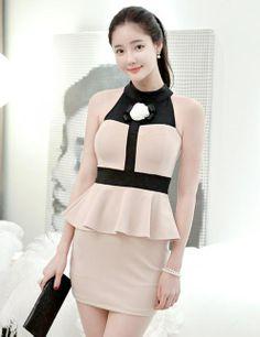 Korean fashion prom dress 94