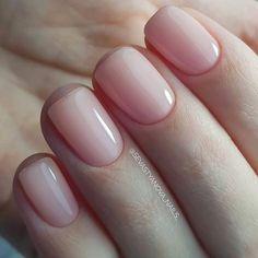 Nageldesign - Nail Art - Nagellack - Nail Polish - Nailart - Nails 50 best natural nail ideas and de Hair And Nails, My Nails, Work Nails, Natural Nail Designs, Nagellack Trends, Manicure E Pedicure, Nude Nails, White Nails, Coffin Nails