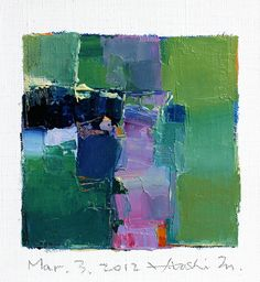 Hiroshi Matsumoto #colorful #abstract #art