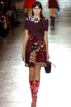 Miu Miu Spring 2012 Ready-to-Wear Collection Slideshow on Style.com
