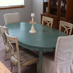 ann sloan chalk paint | Anne Sloan chalk paint. My new dinning table for Morro Bay. I re ...