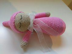 Muñeco ganchillo para dormir bebe