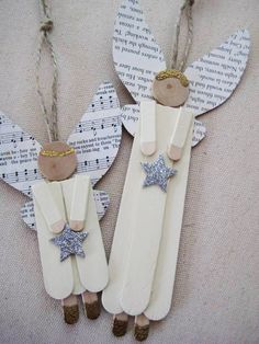 Angels in Christmas decoration