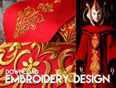 Hey, I found this really awesome Etsy listing at https://www.etsy.com/listing/268531172/amidala-trone-room-gown-embroidery