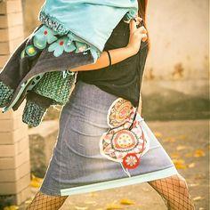 Ing/k original jeans skirt