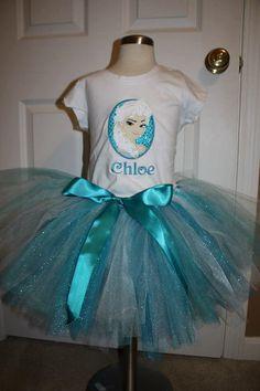 Elsa Frozen Princess Birthday Outfit