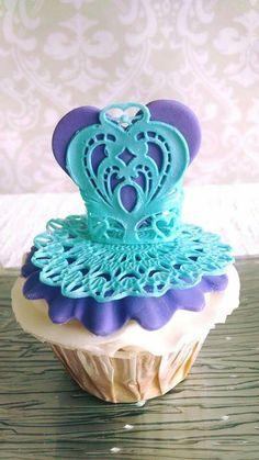 Ballerina tutu cupcake